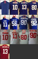beckham jersey youth - Youth NIK Game Football Stitched Giants Blank Manning Simms Beckham Jr Taylor Red White Blue Jerseys Mix Order