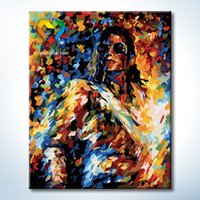 baby impressions - Impression of MJ Wall Art DIY Painting Baby Toys x50cm Digital Canvas Oil Painting Drawing Wall Art for Home Decoration
