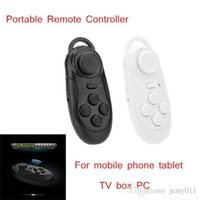 Wholesale Wireless Bluetooth Remote Control Controller for Phone Tablet TV Box PC with Selfie Camera Shutter Function