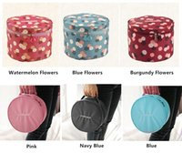 Wholesale New High capacity high quality attractive design Nylon travel Bra underwear Pouch Storage bag Cosmetic Bags Wash bag OPP