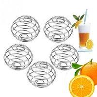 bar blender - 5 Stainless Steel Juicer Balls Milk Drinks Mixer Shaker Blender Mixing Ball Bar Home USE