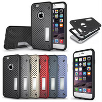 apple iphone net - Premium Air Net Heat Dissipation Shockproof Case Slim Cover Stand For Iphone s s plus Samsung S6 S6 edge S7 S7 edge