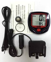 Wholesale Bicycle stopwatch odometer display in English bike Sport tachometer code table