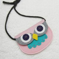 anime patches - 1PC cm New Animal Shape Baby Toys Owl Style Handmade Patch DIY Children Mini Bags Kids Girl Toy Bag Small Pouch Plush Bags