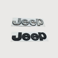 Wholesale 10pcs D Metal Hood Car Emblem Stickers Decal For Jeep Commander Grand Cherokee Comanche Car Logo