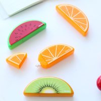 Wholesale 36 Fruit correcting tape Mini kawaii correction tapes Sationery fita corretiva Office accessories School supplies