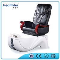 Wholesale 2016 Black and White Fiberglass Basin pipless jet Discharge pump Manicure and Pedicure Spa Massage Chair for Nail Beauty Salon Equipment