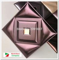 acoustic panel decorative - Home Decor acoustic panels luxury Soft Leather Panel luxury decorative art TV Room sofa backgroumd wallpaper CM