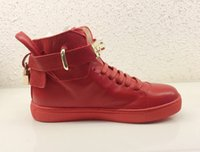 b lock - Lock Genuine Leather original works of genuine pinnacle Fashion from top brand exclusive mold soft rubber outsole shoes leisure women Boots