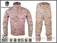 Wholesale Men Military Hunting Combat BDU Uniform Emerson All Weather Tactical Suit amp Pants EM6894
