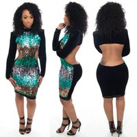 Wholesale 2016 sexy slim summer dashiki for women plus size africa clothing backless elastic dashiki dress african dresses for women F09