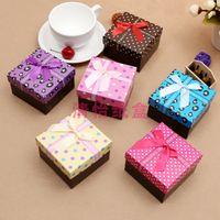 Wholesale Multi colors Watch Box Jewelry Box Necklace Bracelet Box Packing Gift Box case