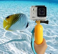 Wholesale New Go pro Floaty Floating Hand Grip Handle Mount Accessory Float Strap For GoPro Hero