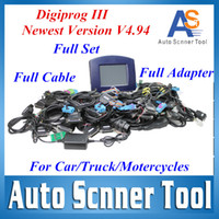 Wholesale Digiprog V4 with Full Software Odometer Programmer Free Updated Digiprog III Test Work For Car Truck Motor DHL Free