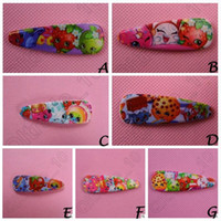 baby shop design - 500pcs CCA3915 High Quality Designs Fruit Shop Family Baby Hairpin Clips Shopping World Baby Hairbands Hair Claws Baby Cartoon Barrettes