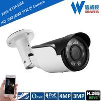 Wholesale Outdoor H HD MP MP IR Night Vision POE Power IP Security Camera CCTV Camera ONVIF
