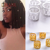 Wholesale Best Deal Pack Dread Lock Ring For Braided Hair Extensions Dreadlock Beads Colors Braid Beads