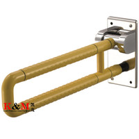 Wholesale Direct Sale Grab Rail Bathroom Handicap Shower Grab Bars With Nylon And Stainless Steel For Disable And Elderly