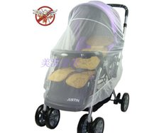 Wholesale Common Elastic carts full face mosquito nets Increase Widen encryption Baby Stroller Buggy Baby Mosquito mosquito netFree ship