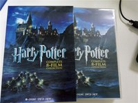 Wholesale In stock Harry potter FILM dics The Complete Collection Factory Price DVD Boxset New free DHL shipping from gadgetexpress