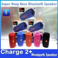 best charge cards - Charge Plus Speakers Portable Outdoor Bluetooth Subwoofer Best Bluetooth Speaker Colors With Retail Package DHL In Stock