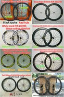 best bike hubs - Best selling Whole sale mm carbon wheels Made in China road bicycle wheelset K weave mm width A271 hub
