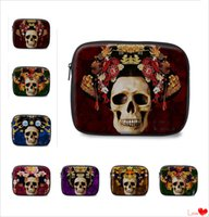 Wholesale 2016 Tiger Skull Wrap Laptop Ipad Bags Tablet Case Ipad Notebook Soft Protect Zipper Bag High Quality Big Pouch Cover Case cm FS S05