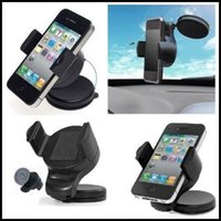 auto cell phone mounts - NEW Smart Phone Cell Cradle Holder SMART GEAR Car Mount for PMP iPhone Camera Universal Windshield Auto Car Holder Kit Bracket