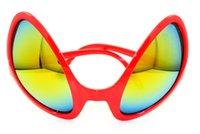 alien sunglasses - 2016 NEW Alien SUN Glasses Summer Fashion Men Women kids Beach sunglasses Party supplies Aliens glasses UV protect sunglass