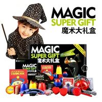 Wholesale Magic Trick Set Kinds Magic Play with DVD Teaching Professional Magic Tricks Stage Close Up Magic Prop Gimick Card Puzzle Toy
