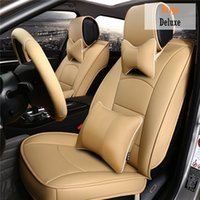 Wholesale Leather Car Seat Cover for Ford Fiesta Focus Expedition Mondeo Everest Ecosport Transit Seat Cushion Protect Rug