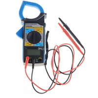 Wholesale DM6266 Digital Multimeter Clamp Meter AmVolt Ohm Meter Insulation Test B00353 OSTH