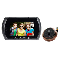Wholesale 1pcs Inch Color Video Camera Mobile Disturb Detection the Electronic Eye Video Doorbell F1622A