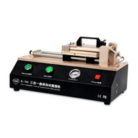 automatic edging machine - 2016 New in Automatic Curved Touch Screen OCA Film Laminating Machine For S6 S7 Edge Plus TBK Laminator for Curved Screen