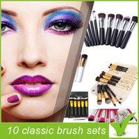 best facial makeup - Top Best Professional Cosmetic Facial Make up Brush Tools Wool Makeup Brushes Set Kit