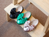 Wholesale baby girls bowknot shoes