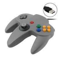 Precio de Pc shock del sistema-50 PC liberan la palanca de mando del regulador del juego del envío para el sistema N64 de Nintendo 64