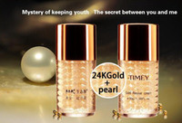 Wholesale STIMEY k gold facial kit anti aging cream high quality Makeup Cosmetics Highlight Hot selling VS KYLIE eyeshadow DHL