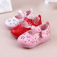 china shoes children - 2016 kids shoes spring and summer baby kid shoe flash flower girl toddler babies shoes years children china cheap shoes size hollow