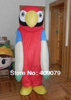 Wholesale adult parrot mascot costume