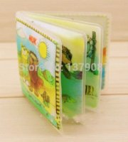 animal sounds books - 1pcs Cute Carton Waterproof Cloth Book Baby Animals Bathe Washed Toy Early Learning Toys BB Sound Paper Beads Toys M Y