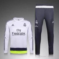 best waterproof pants - hot selling real madrid tracksuit chandal Survetement football Tracksuit training suit skinny pants Sportswear best quality