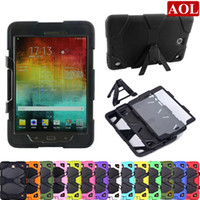Wholesale Generic Rugged Armor Kickstand Case Cover For Samsung Galaxy Tab A T550 inch TabA T350 inch shockproof defender case