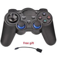 Wholesale 2 G Gamepad Android Controllers Wireless Gamepad Joystick Android Controller for Tablet PC Smart TV Box for Samsung Xiaomi