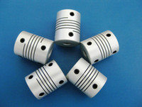 Wholesale New Aluminum alloys Elastic thread coupler for Encoder special coupling or servo stepper motor size D L D1 D2 to mm
