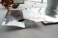 aluminum plate product - cm pack flat bag semitransparent aluminum plating electronic product packing pouch heat sealed mylar plain bags