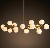 art dna - 2016 new design North Europe LED creative modo DNA pendant light Globes glass lampshade chandelier LED lighting fixture