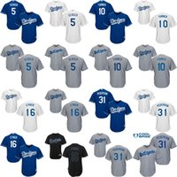 andre ethier jersey - Youth Corey Seager Justin Turner Andre Ethier Joc Pederson Los Angeles Dodgers kids Baseball Jersey stitched size S XL