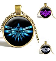 asian mask - Legend of Zelda Game Majoras Mask Colorful owl Glass Round Pendant Charm Necklace Jewelry gift