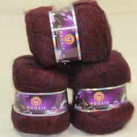 angora goat yarn - Sale balls MOHAIR Angora goats Cashmere silk hand Yarn Knitting wine